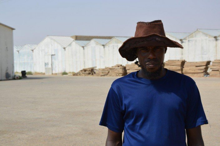 Greenhouse worker Al Karj, Saudi Arabia