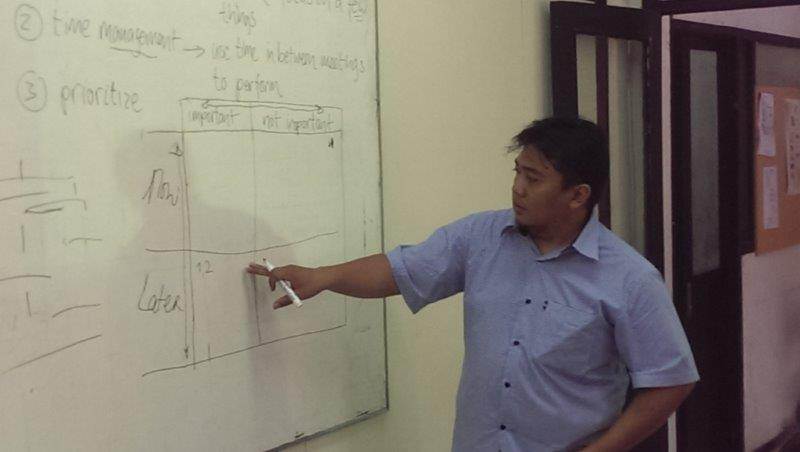 GMBS - FSRD ITB Bandung training