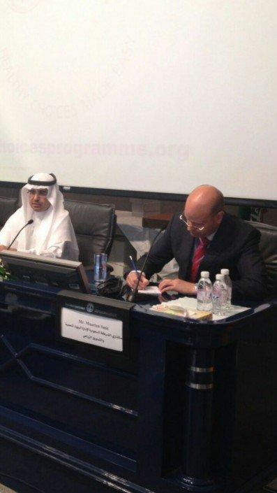 Seminar healthy food healthy lifestyle, Riyadh, Saudi Arabia
