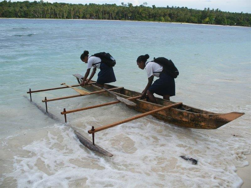 Pasi island Papua Indonesia