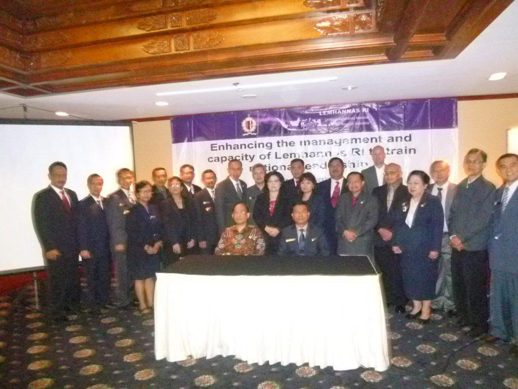 workshop LEMHANNAS Indonesia