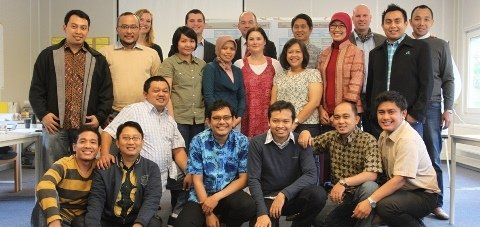 GMBS news - Indonesian Ministry of Trade - database management training